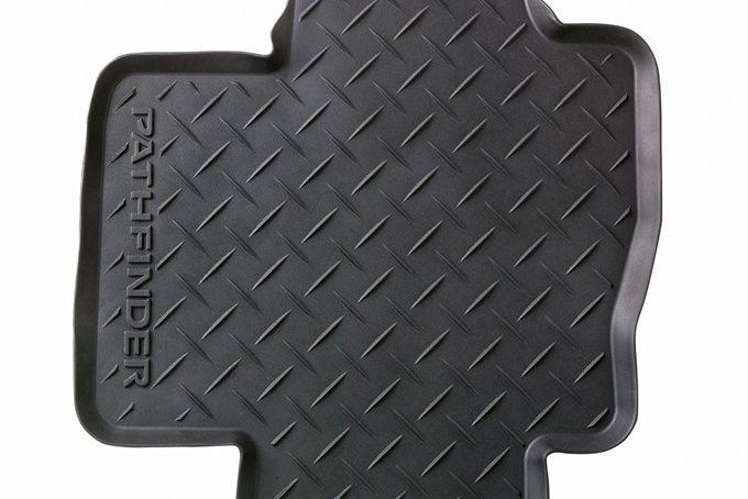 Коврики салона резиновые Nissan Pathfinder R52 2014- KE7483J089 Nissan