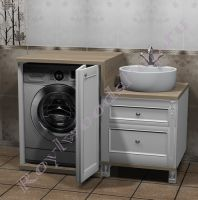 Мойдодыр со стиральной машиной и раковиной