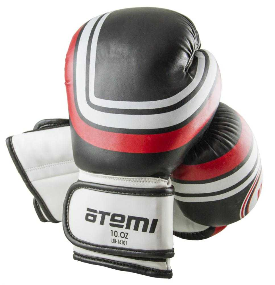 Перчатки боксерские ATEMI черные LTB-16101