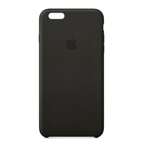 APPLE Leather Case для iPhone 6 Plus, 6S Plus Черный