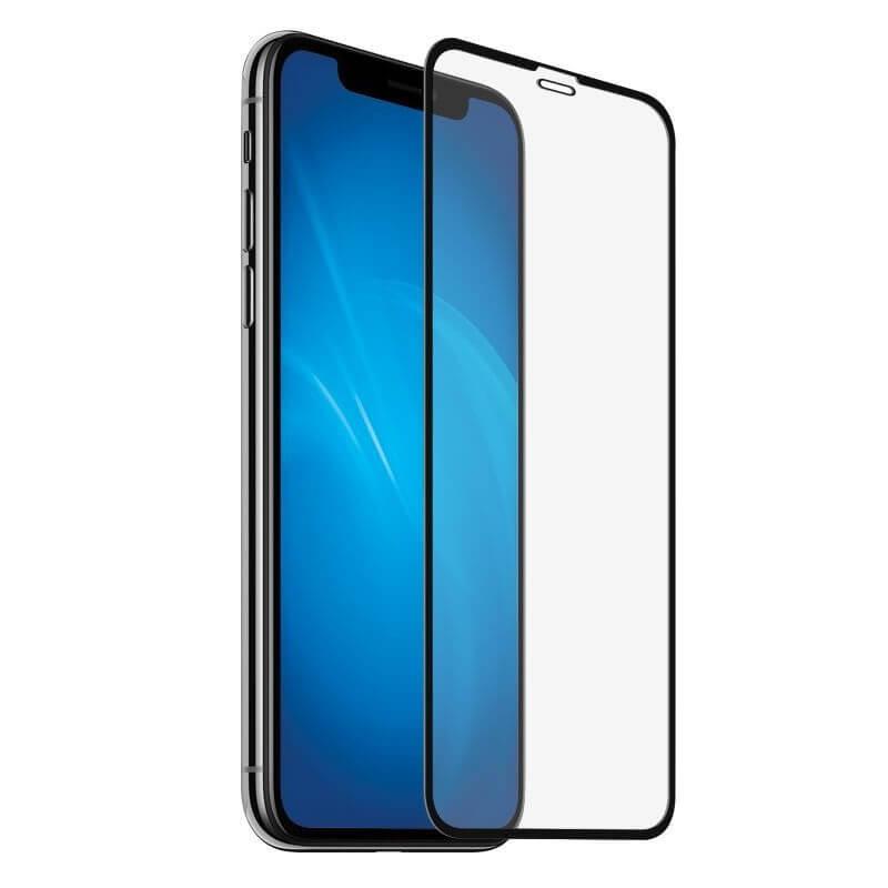 Защитное 5D стекло для для iPhone X, XS Черный