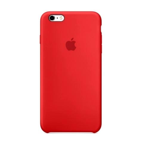 Силиконовый чехол Apple для iPhone 6 Plus/ 6S Plus Yellow