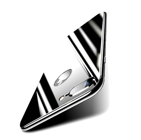 Защитное стекло на заднюю панель 5D Glass для iPhone 8 Plus Черный