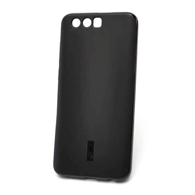 Силиконовый чехол для Huawei Honor 9, черный матовый