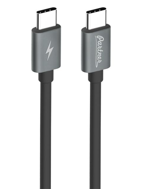 Кабель USB3.1, USB type-C - USB type-C, 1м, Partner