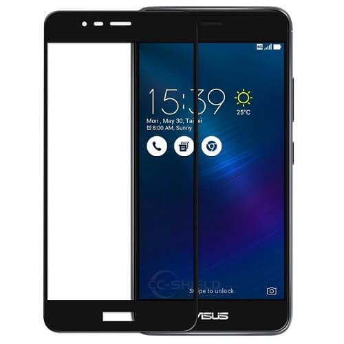 Защитное стекло полное (2.5D) для Asus Zenfone Max Plus (M1, ZB570KL) Черный