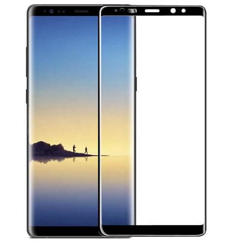 Защитное стекло полное (2.5D) для Samsung Galaxy Note 8 (N950F) Черный