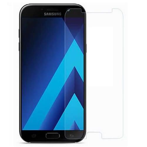 Защитное стекло полное (2.5D) для Samsung Galaxy A7 2017 (A720F) Черный