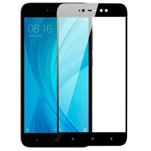 Защитное стекло полное (2.5D) для Xiaomi Redmi Note 4X Черный