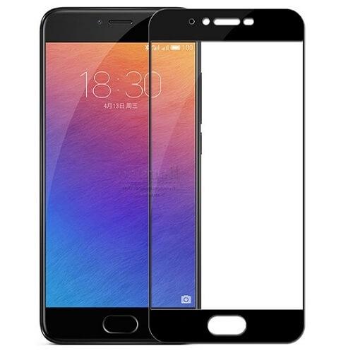 Защитное стекло полное (2.5D) для Meizu M5s Черный