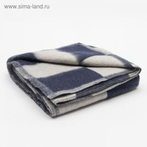 Одеяло полушерстяное, размер 100х140 см, цвет микс для девочки
