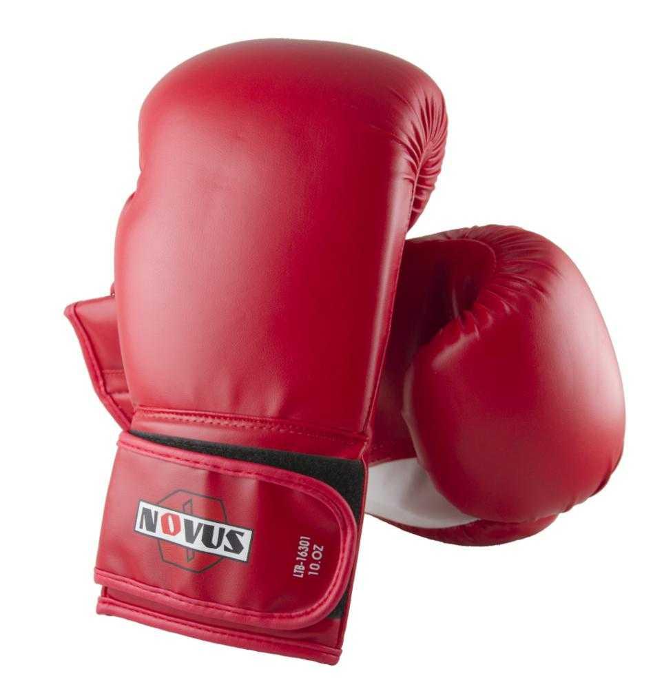 Перчатки боксерские Novus красные LTB-16301