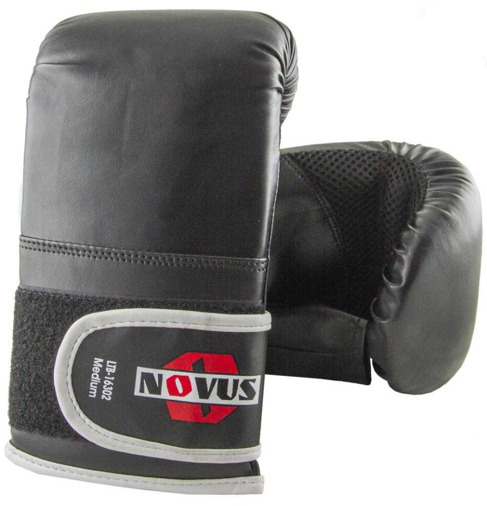 Перчатки снарядные Novus черные LTB-16302