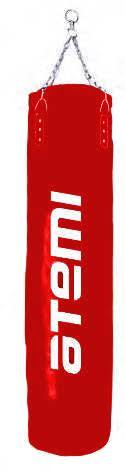 Мешок боксерский без набивки ATEMI красный PS-10003