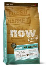 """NOW FRESH™ """"Контроль веса"""" беззерновой корм для собак крупных пород с индейкой, уткой и овощами Grain Free Large Breed Senior Recipe 11,3 кг"""