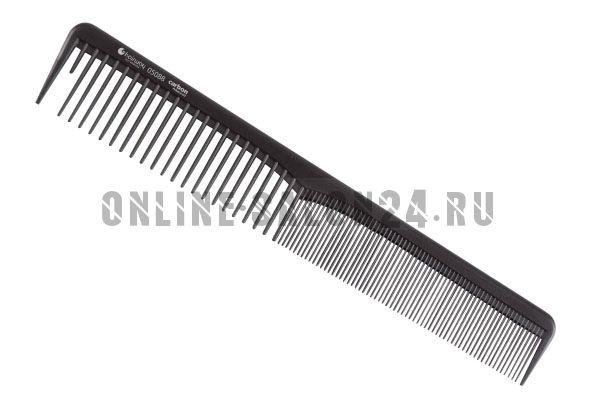 Расческа Hairway Carbon Advanced комб. 180 мм
