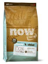 NOW FRESH™ Беззерновой для щенков крупных пород с индейкой, уткой и овощами (Fresh Puppy Large Breed Recipe Grain Free) 5,45 кг