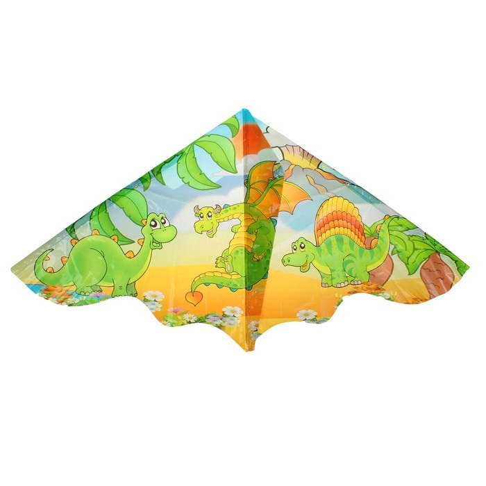 Воздушный змей ДИНОЗАВРЫ 120х60 см