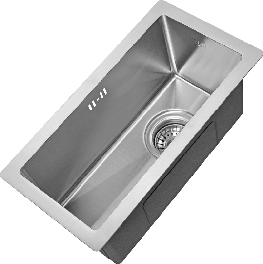 Врезная кухонная мойка ZorG INOX X-2344