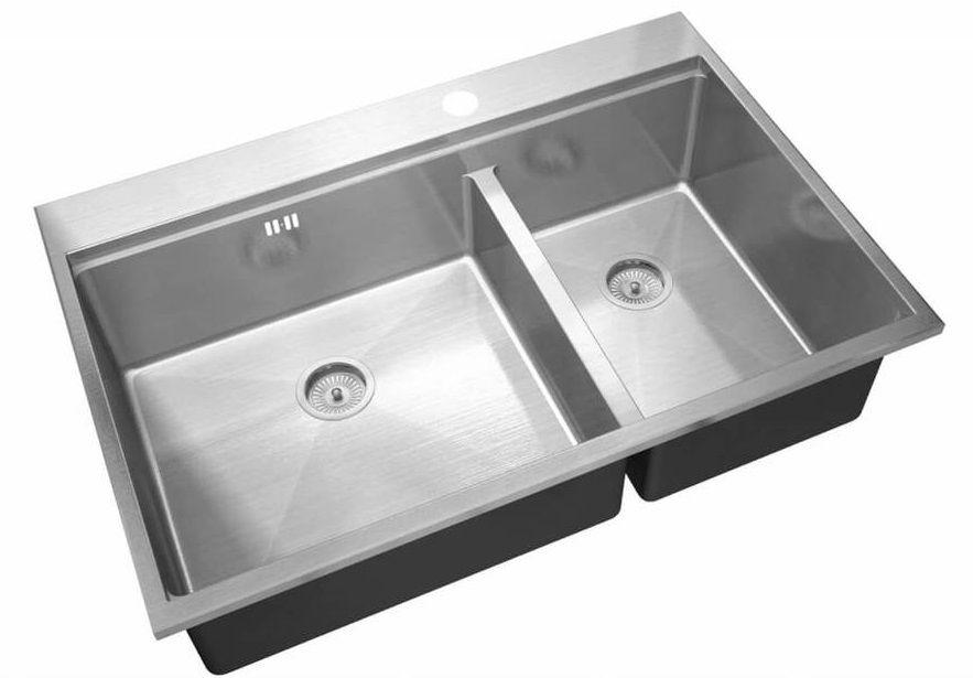 Врезная кухонная мойка ZorG R-5278-L ZORG MASTER DIXI