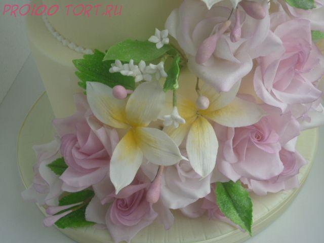 Паста сахарная цветочная белая  вес 600гр.