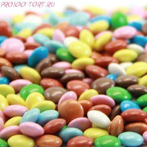 Украшения шоколадные Арлекино 50гр.
