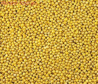 Шарики Золотые (мини) 50 гр.