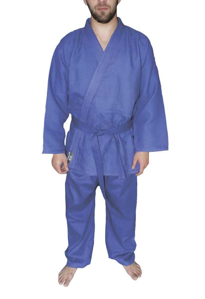 Кимоно для дзюдо ATEMI синее AX7