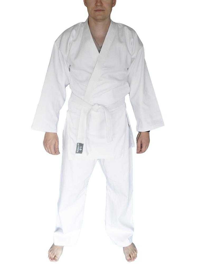 Кимоно для рукопашного боя ATEMI белое AKRB-01