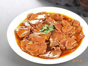 80 Говядина жареная с соусом