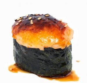 016 a Запеченные суши с креветками