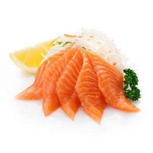 067 Сашими с лососем 80 гр