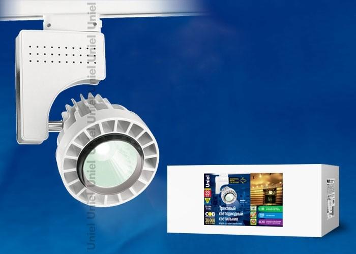 Трековый светильник на шинопровод Uniel ULB-M04А-33W/NW WHITE