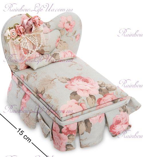 """Шкатулка для украшений """"Цветочная кровать"""""""