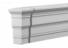 Торцевой Элемент Европласт Фасадный 4.34.332 Ш68хВ138хГ68 мм