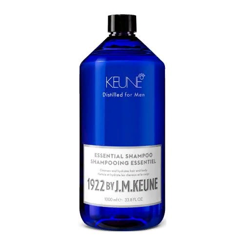 Keune Универсальный шампунь для волос и тела/ 1922 Essential Shampoo, 1000 мл.