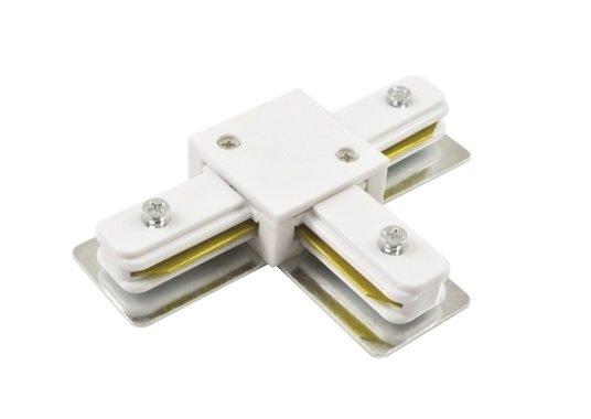 Коннектор для трекового светильника ASD/LLT TC-1 Т-образный белый 5804