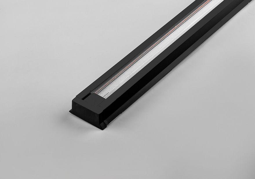 Шинопровод для трековых светильников черный Feron CAB1000 10335