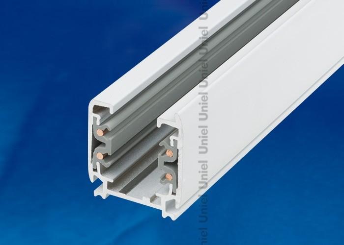 Шинопровод осветительный 3-фазный Uniel белый L=1м UBX-AS4 WHITE 100 POLYBAG