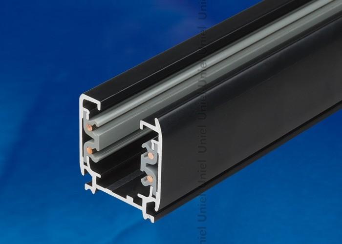 Шинопровод осветительный 3-фазный Uniel черный L=1м UBX-AS4 BLACK 100 POLYBAG