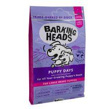 """Barking Heads для щенков крупных пород с курицей, лососем и рисом """"Щенячьи деньки""""  12 кг"""
