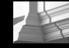 Внутренний Угол Европласт Фасадный 4.32.221 Ш292хВ174хГ292 мм