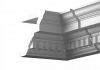 Внутренний Угол Европласт Фасадный 4.32.222 Ш292хВ172хГ292 мм