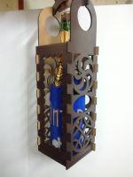 Коробка под шампанское с узорами