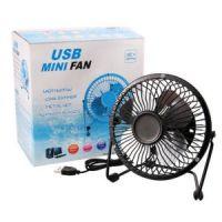 Настольный Металлический USB-Вентилятор Mini Fan_4