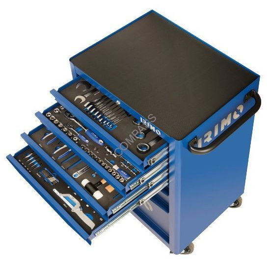 Тележка инструментальная с набором инструмента 222 предмета, IRIMO