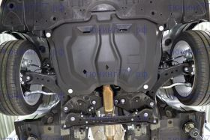 Защита картера и кпп, АВС-Дизайн, композит 6мм., V - все