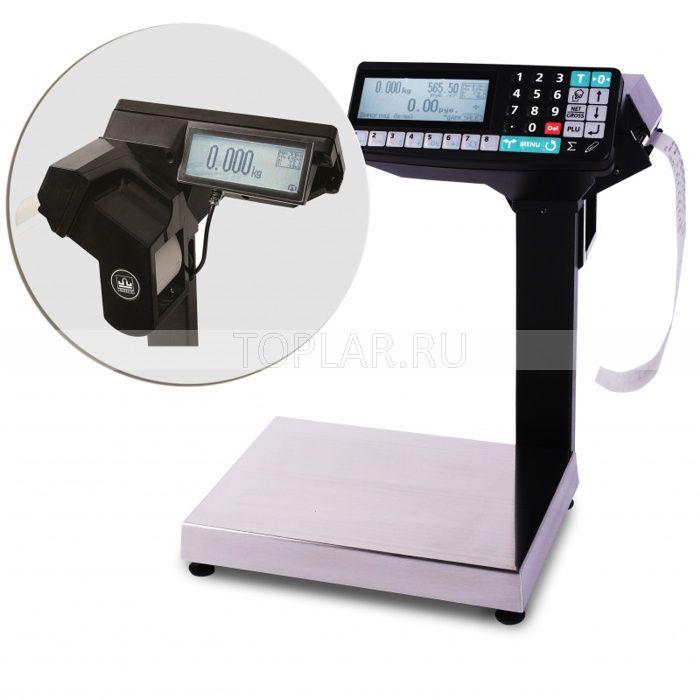Весы с печатью этикеток МАССА MK_R2P10
