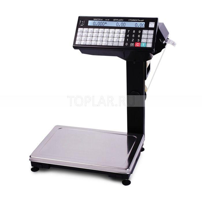 Весы с печатью этикеток МАССА ВПМ_Т1