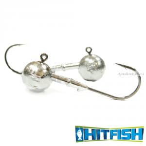Джиг головка Hitfish Round Jig 90 №10/0 /  34 гр (2шт в уп)